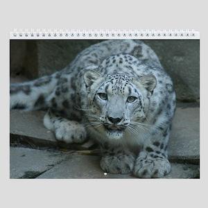 Snow Leopard M005 Wall Calendar