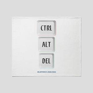 CTRL Throw Blanket