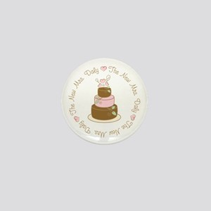 The New Mrs. Daly Personalized Mini Button