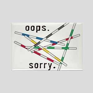 Oops - sorry Rectangle Magnet