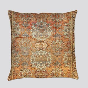 Persian Bakhtiari Rug Everyday Pillow