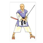 Martial Arts Freemason Postcards (Package of 8)