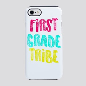 First Grade Tribe Light Teac iPhone 8/7 Tough Case