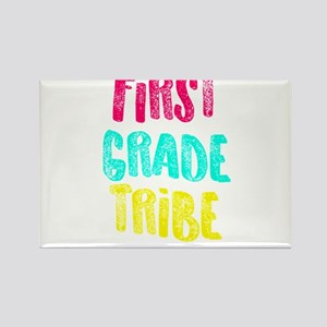 First Grade Tribe Light Teacher Appreciati Magnets