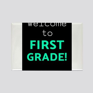 First Grade Welcome To First Grade Light T Magnets