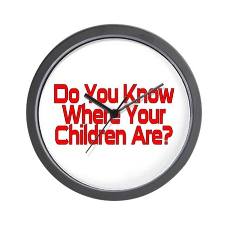 Do You Know Wall Clock