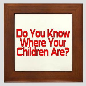 Do You Know Framed Tile