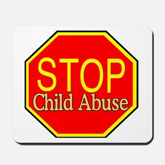 Stop Abuse Mousepad