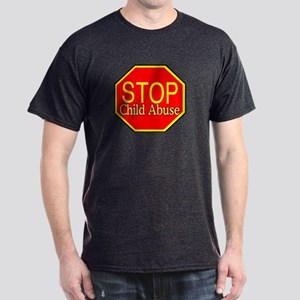 Stop Abuse Dark T-Shirt