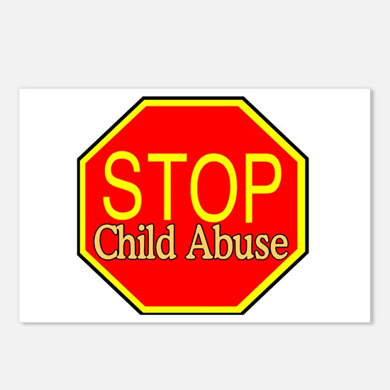 Stop Abuse Postcards (Package of 8)