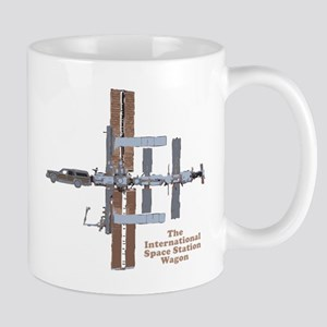 Space Station Wagon Mug