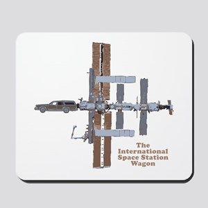 Space Station Wagon Mousepad