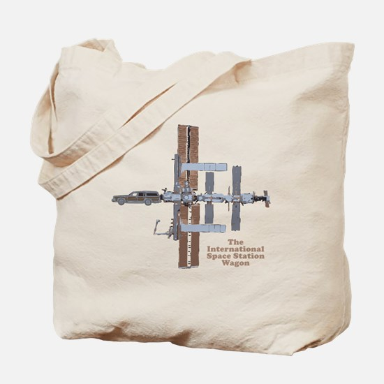 Space Station Wagon Tote Bag