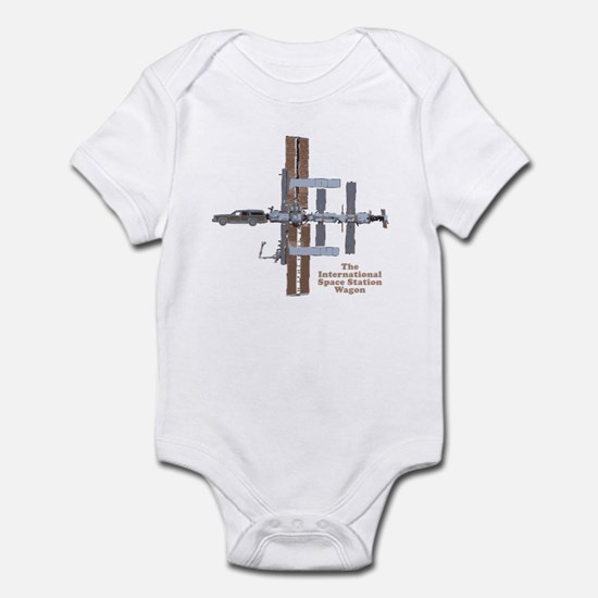 Space Station Wagon Infant Bodysuit