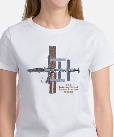Space Station Wagon Women's T-Shirt