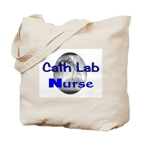 Cath Lab Nurse Tote Bag
