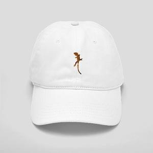"""Crested Gecko Climbing"" Cap"
