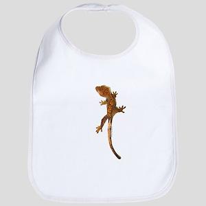 """Crested Gecko Climbing"" Bib"