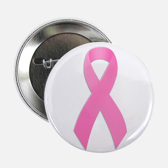 """Pink Ribbon 2.25"""" Button (100 pack)"""