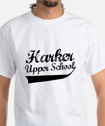 Harker Upper School White T-Shirt