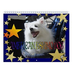 American Eskimo Dog Wall Calendar