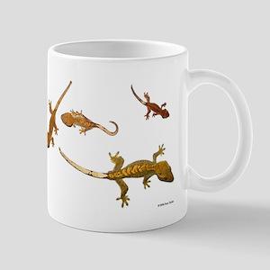Four Crested Geckos Mug