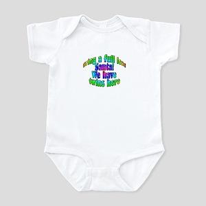 Santa Twins Here Infant Bodysuit