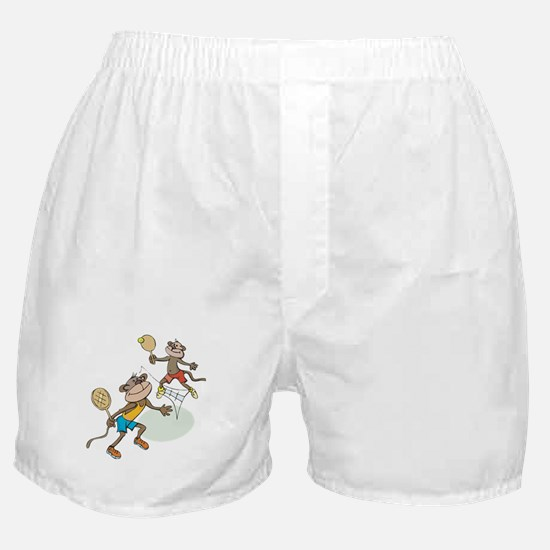 Monkey Tennis Boxer Shorts