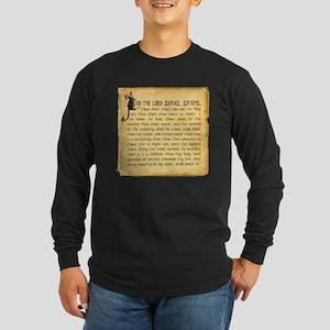 Holy Grenade Long Sleeve Dark T-Shirt