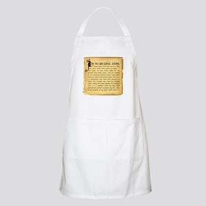 Holy Grenade BBQ Apron