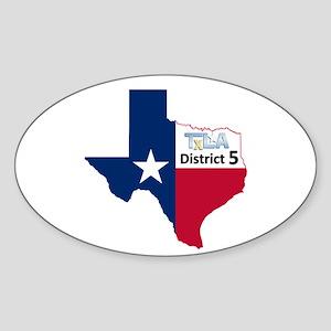 District 5 Logo Sticker