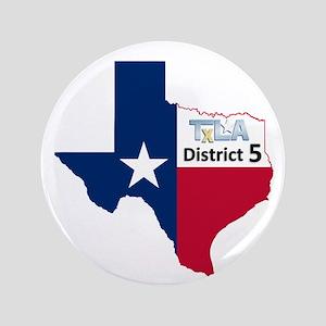 """District 5 Logo 3.5"""" Button"""