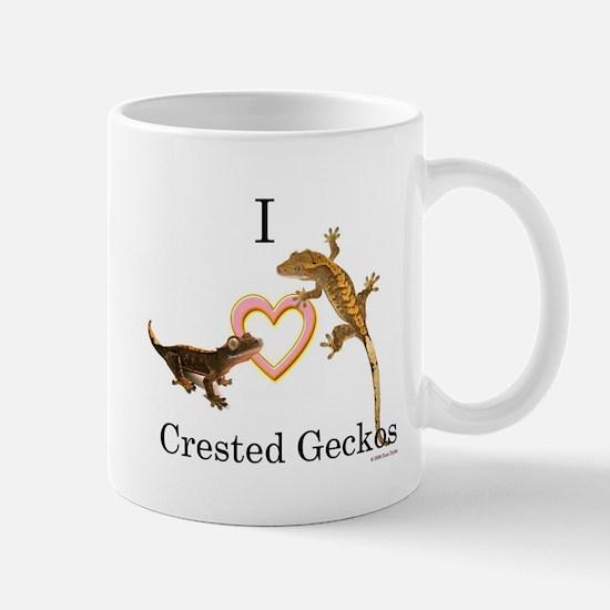 I Love Crested Geckos Mug