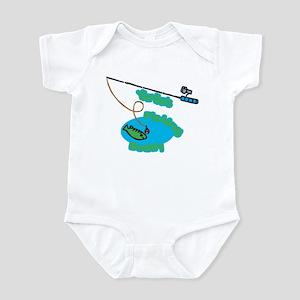 YiaYia's Fishing Buddy Infant Bodysuit