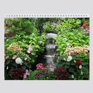 12 Month Flowers & Gardens Wall Calendar