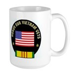 Honor Our Vietnam Vets Large Mug