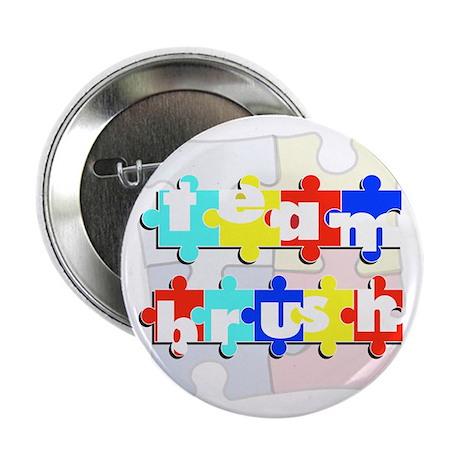 """Team Brush 2.25"""" Button"""