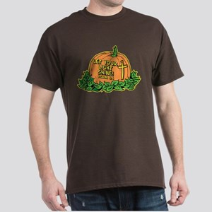 LET YOUR LIGHT SHINE (PUMPKIN) Dark T-Shirt