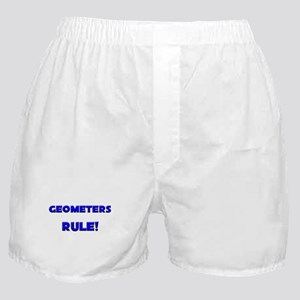 Geometers Rule! Boxer Shorts