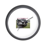 shutmymouth2 Wall Clock