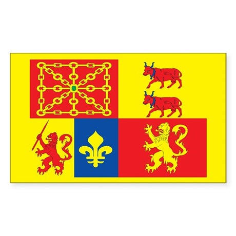 pyrenees atlantiques Rectangle Sticker