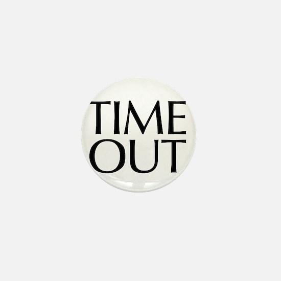 Time Out McCain Mini Button