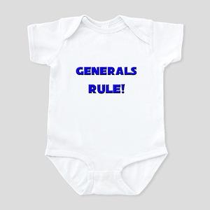 Generals Rule! Infant Bodysuit