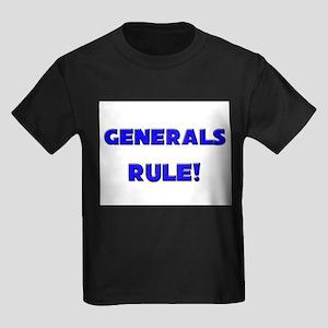 Generals Rule! Kids Dark T-Shirt