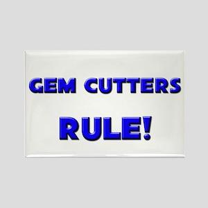 Gem Cutters Rule! Rectangle Magnet