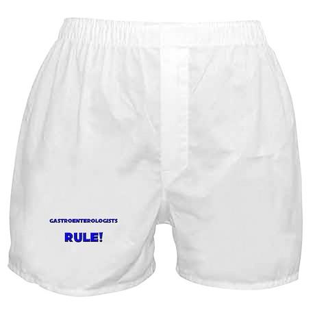 Gastroenterologists Rule! Boxer Shorts
