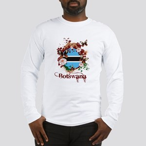 Butterfly Botswana Long Sleeve T-Shirt
