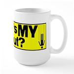 Bailout? Large Mug