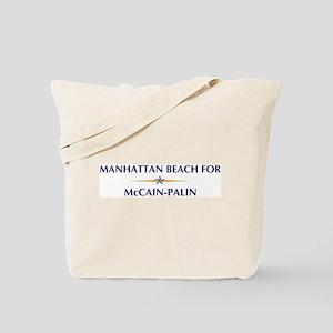 MANHATTAN BEACH for McCain-Pa Tote Bag
