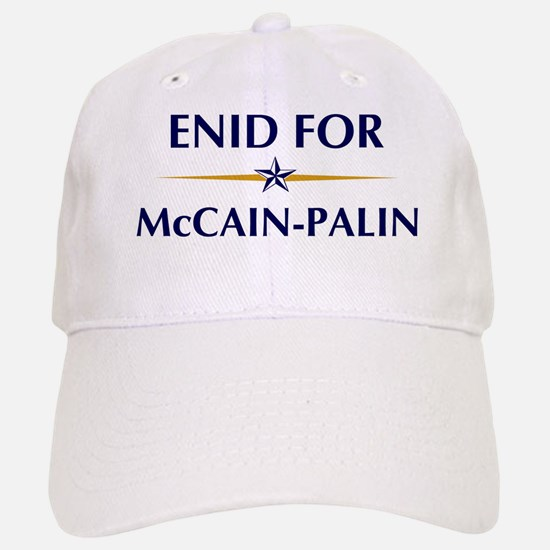ENID for McCain-Palin Baseball Baseball Cap